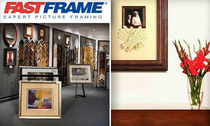 FastFrame - Multiple Locations: $49 for $125 Worth of Custom Framing at FastFrame. Choose from Six Locations.