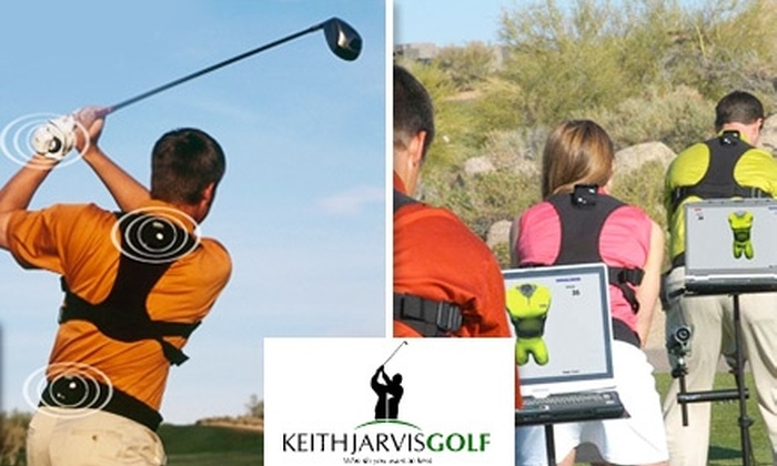 Keith Jarvis Golf - Tucker: $60 for Four 30-Minute Private Golf Lessons and Professional Swing Analysis from Golf Pro Keith Jarvis (Up to $399 Value)
