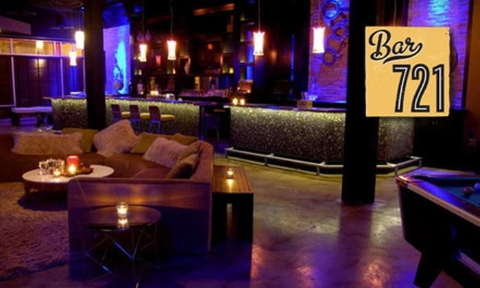 Bar 721 - City Center: $15 for $35 Worth of Upscale Cocktails at Bar 721