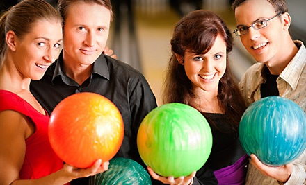 2 Hours of Bowling and Shoe Rentals for Up to 6 People (up to a $48 total value) - Vantage Bowling Centers in Tucson