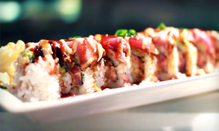 Susumu Japanese Steakhouse - Lead Hill: $15 for $30 Worth of Hibachi Fare, Sushi, and Drinks at Susumu Japanese Steakhouse in Roseville
