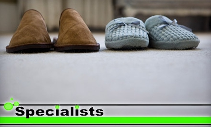 Specialist Carpet and Upholstery Cleaning - Millard: $75 for Carpet Cleaning for Three Rooms and One Hallway from Specialist Carpet and Upholstery Cleaning (Up to $150 Value)