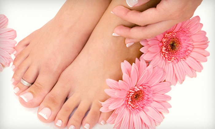 Jolie Nails & Spa - Eyster's Avon Gardens: $19 for Mani-Pedi at Jolie Nails & Spa in Rochester Hills ($39 Value)