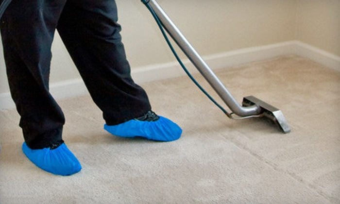 Mr. Magic Carpet Cleaning Plus - El Pueblo: Carpet Cleaning for Three or Seven Rooms and Hallway from Mr. Magic Carpet Cleaning Plus (Up to 59% Off)