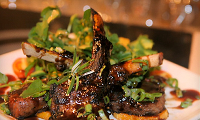 Spur Tree - Lower East Side: $22 for Two Asian-Fusion Entrees and Two Cocktails or Glasses of Wine at Spur Tree (Up to $56 Value)