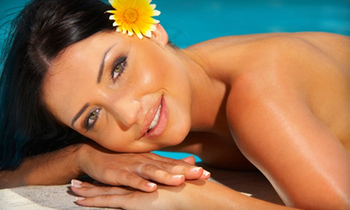 Image Sun - Saint Peters: Three Mystic Spray Tans or One Month of Unlimited Tanning in Level Four Bed at Image Sun (Up to 62% Off)