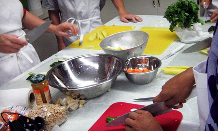Kalamazoo Cooks! - Central Business District: Cooking Class for One or Two at Kalamazoo Cooks!