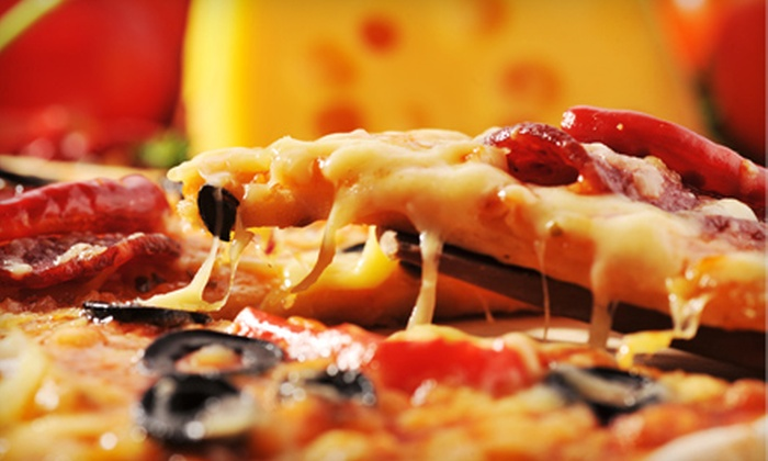 Pizza Oven - Riverside: Gourmet Pizza Dinner or Dine-In Pizzeria Fare at Pizza Oven