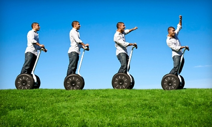 Segway Tours of Houston - Houston: $40 for a Two-Hour Segway Tour of Buffalo Bayou at Twilight from Segway Tours of Houston ($80 Value)