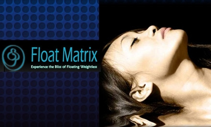 Float Matrix - Nob Hill: $35 for an Hour-Long Relaxing Float Session With Float Matrix