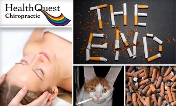 HealthQuest Chiropractic - Lockwood Heights: $150 for Eight Stop-Smoking Needle-Free Acupuncture Sessions at HealthQuest Chiropractic