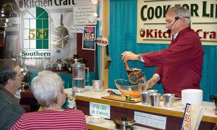 Southern Home and Garden Show - Eastside: $3 for One Admission to the Southern Home and Garden Show at the Carolina First Center