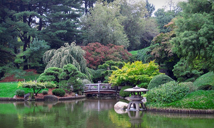 Brooklyn Botanic Garden - New York: Brooklyn Botanic Garden Visit for Two or Four (Up to 55% Off)