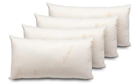 Pack de 2 o 4 almohadas Visco Cashmere