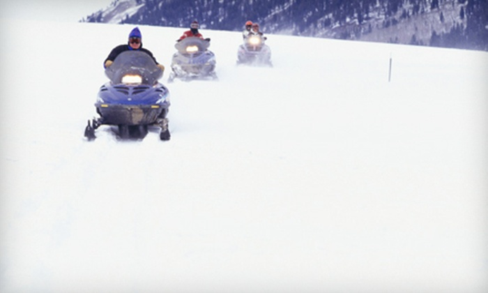 Good Times Adventures - Breckenridge: $50 for a Two-Hour Backcountry Snowmobile Tour from Good Times Adventures in Breckenridge (Up to $100 Value)