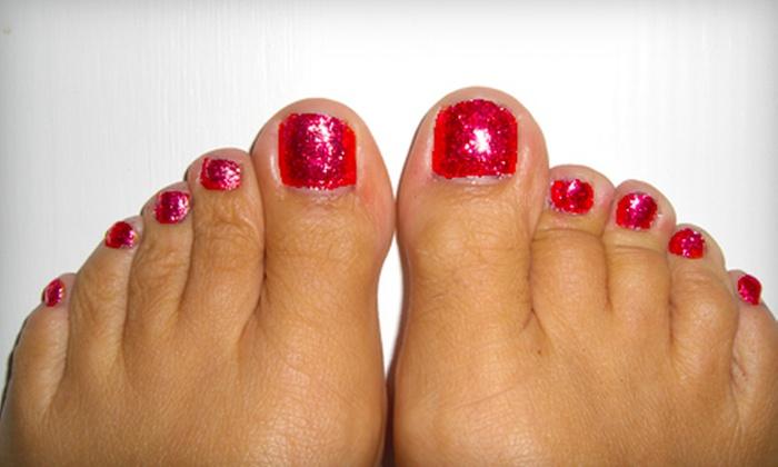 Bella Donna Nails - Lexington: RockStar Toes Gel Treatment and Spa Pedicure or Spa Pedicure at Bella Donna Nails