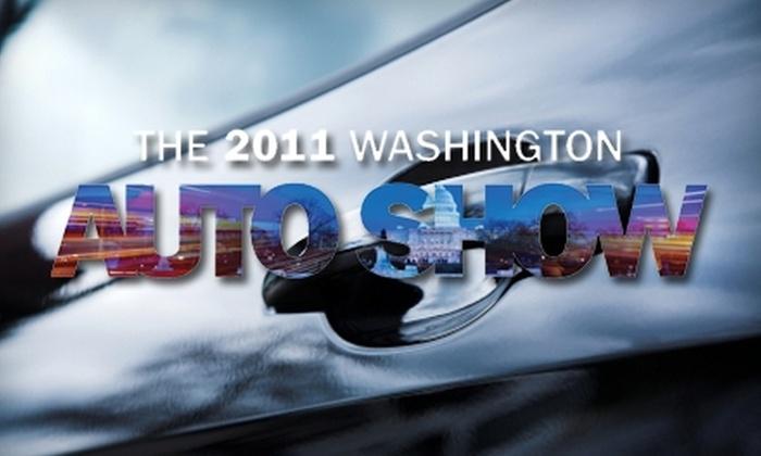 The Washington Auto Show - Mount Vernon Square: $6 for One Adult Ticket to The 2011 Washington Auto Show, February 1–3 ($12 Value)