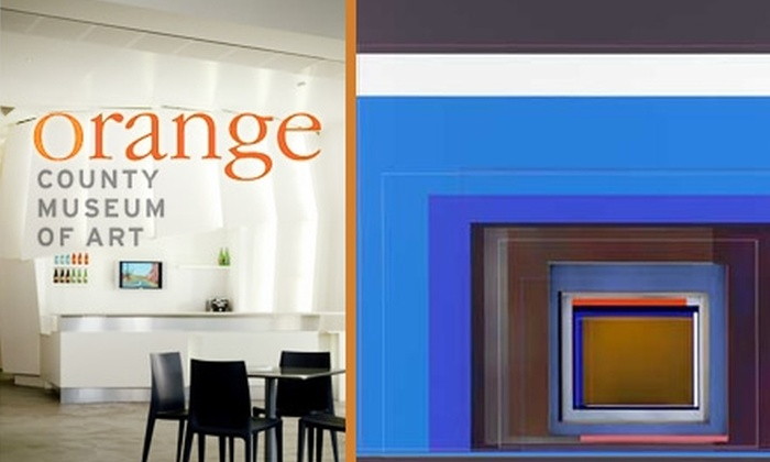 Orange County Museum of Art - Newport Beach: $6 for Admission ($12 Value) or $49 for a Family Membership ($100 Value) to Orange County Museum of Art