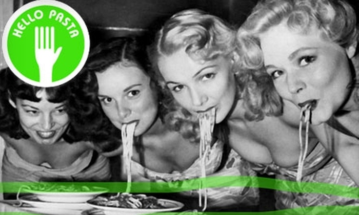 Hello Pasta - Multiple Locations: $3 for $6 Worth of Pasta, Desserts, and Beverages at Hello Pasta. Choose From Two Locations.