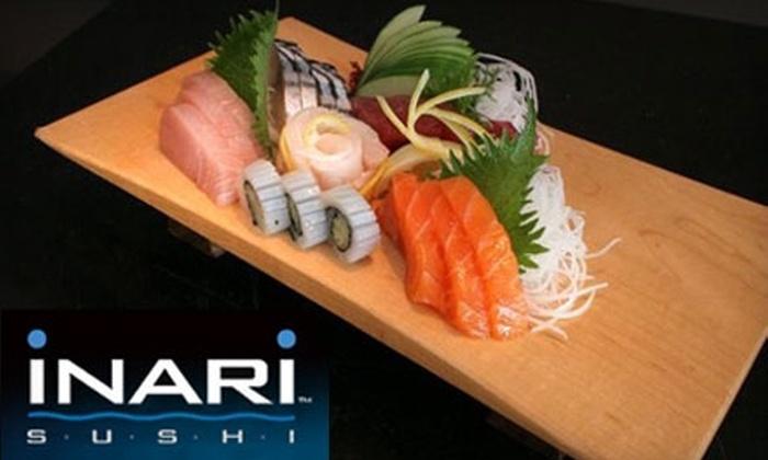 Inari Sushi - Elmwood Park: $15 for $30 Worth of Japanese Fare at Inari Sushi in Elmwood Park