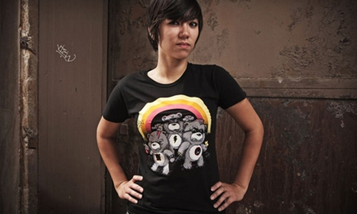 Threadless: $15 for $30 Worth of Artistic Tees and Accessories Online from Threadless