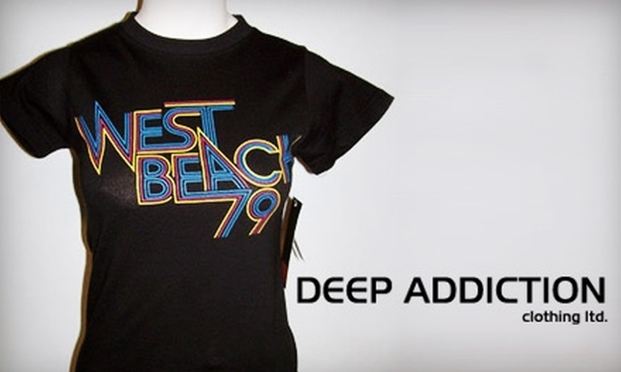 Deep Addiction Clothing - Central Business District: $25 for $50 Worth of Clothing and Accessories at Deep Addiction Clothing