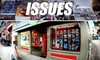 Issues - Piedmont Avenue: $10 for $20 Worth of Magazines, Gifts, and More at Issues