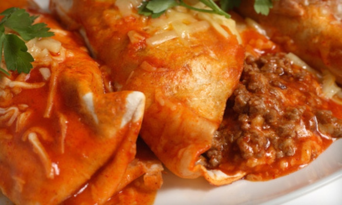 Bandido's Mexican Cafe - Multiple Locations: Mexican Fare for Lunch or Dinner at Bandido's Mexican café (Up to 55% Off). Two Options Available.
