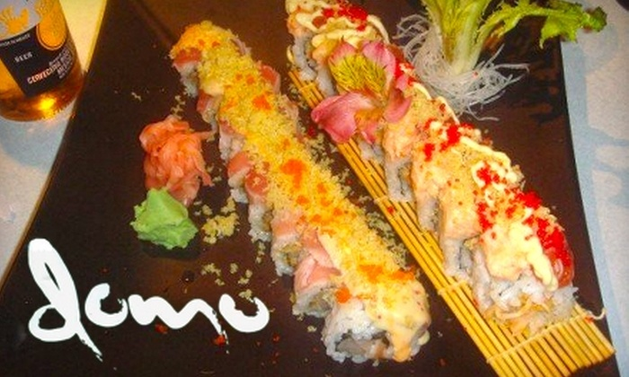 Domo Japanese Restaurant & Sushi Bar - Multiple Locations: $15 for $30 Worth of Sushi and More at Domo Japanese Restaurant & Sushi Bar