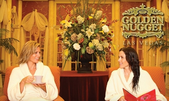 Spa and Salon at the Golden Nugget - Downtown: $60 for $130 Worth of Massages, Facials, and Body Treatments at the Spa and Salon at the Golden Nugget