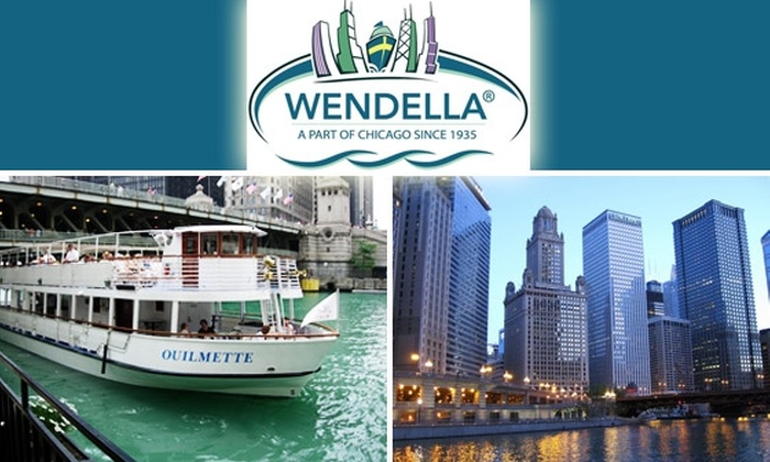 Wendella Boat Rides - Near North Side: $11 for a One-Hour Wendella Chicago River Architecture Tour ($22 Value)
