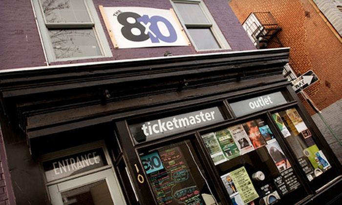 The 8x10 - Federal Hill-Montgomery: $20 for $40 Worth of Bar Beverages at The 8x10