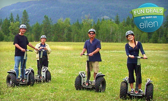 Action Segway Tours - Big Bear Lake: $42 for a Two-Hour Off-Road Segway x2 Tour from Action Segway Tours in Big Bear Lake ($85 Value)