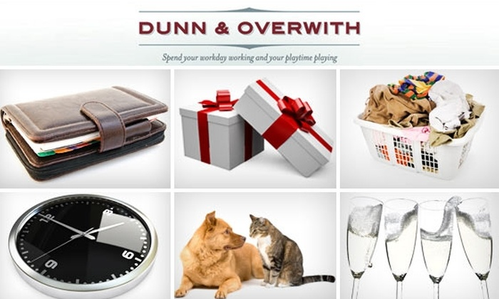 Dunn & Overwith LLC - New York City: Get Two Hours of Chores Done for $40 with Dunn & Overwith