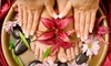 John of Italy Salon & Day Spa - Westlake Village: $55 for Mani-Pedi and Paraffin Treatment at John of Italy Salon & Day Spa in Westlake Village ($115 Value)