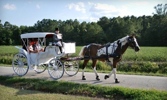 Chariots For Hire - Suffolk: $89 for a Country Carriage Ride for Two and a Light Supper from Chariots for Hire in Suffolk ($180 Value)