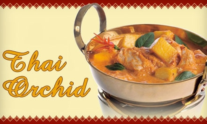 Thai Orchid Restaurant - Pickering: $15 for $30 Worth of Thai Cuisine and Drinks at Thai Orchid Restaurant