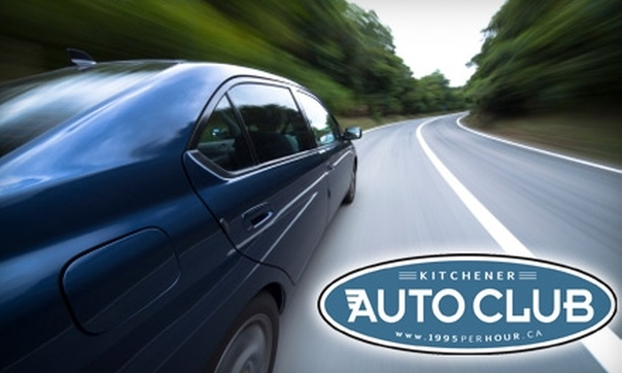 Kitchener Auto Club - Grand River North: 68% Off Services at Kitchener Auto Club. Choose from Three Options.