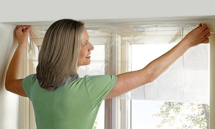 One, Two or Four Indoor Window Insulation Kits