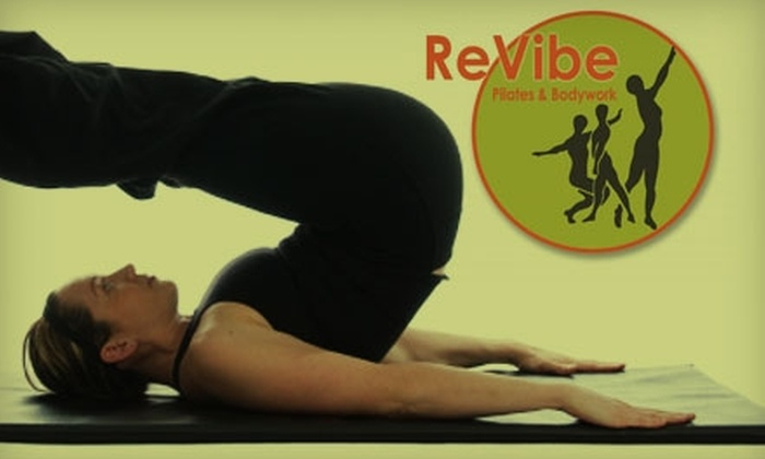 ReVibe Pilates & Bodywork - Old Colorado City: $39 for a 60-Minute Massage and Three Drop-In Pilates Mat Classes at ReVibe Pilates & Bodywork