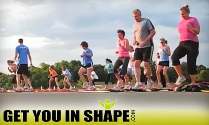 Get You In Shape - Coppell: $59 for One Month of Boot-Camp Fitness Classes at GetYouInShape.com in Coppell ($225 Value)