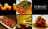 Trevor Kitchen and Bar - Downtown Toronto: $25 for $50 Worth of Sophisticated Comfort Fare and Drinks at Trevor Kitchen and Bar