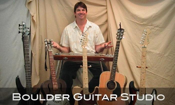 Boulder Guitar Studio - Palo Park: $30 for a One-Hour Guitar or Bass Lesson from Boulder Guitar Studio ($60 Value)
