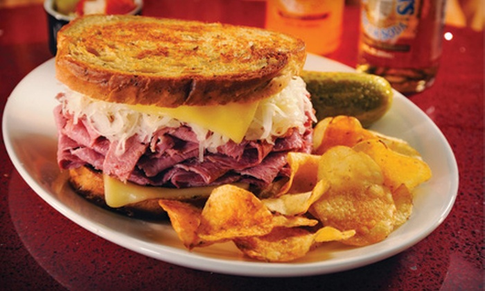 Olly Fresco's - Downtown: $11 for New York–Style Hot Sandwiches for Two at Olly Fresco's ($23.10 Value)