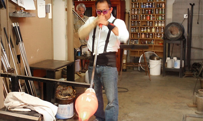 Santa Barbara Art Glass - Lower East: $99 for a Two-Hour Glass-Blowing Class at Santa Barbara Art Glass