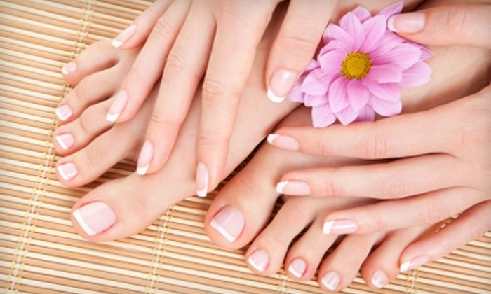 Byuti 73 Salon - Xenia: $30 for Manicure and Pedicure ($60 Value) or $35 for Highlight Service ($75 Value) at Byuti 73 Salon