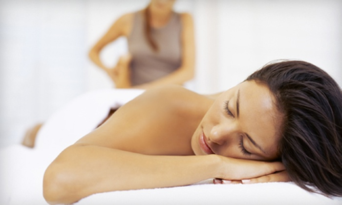 The Studio Salon - Deer Park: Aromatherapy Massage or Hairstyling Package at The Studio Salon in Newport News