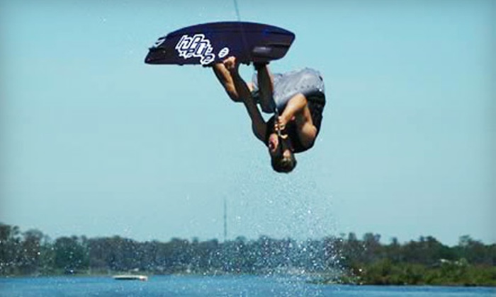 Wake Experience - Marina Pacifica: $95 for a Two-Part Intro to Wakeboarding Lesson at Wake Experience in Long Beach ($190 Value)