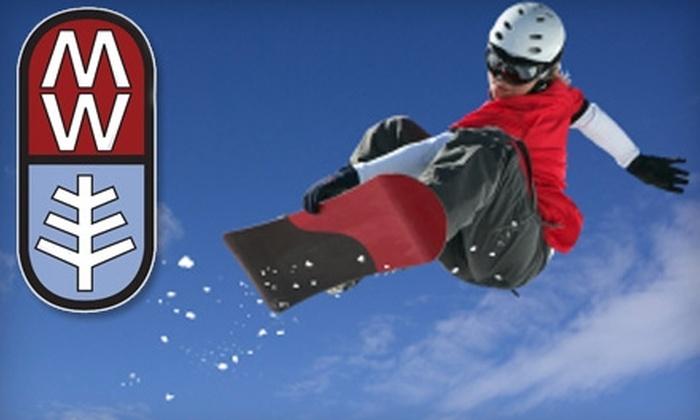 Mt. Waterman - La Canada Flintridge: $25 for an Adult All-Day Lift Ticket at Mt. Waterman ($50 Value)