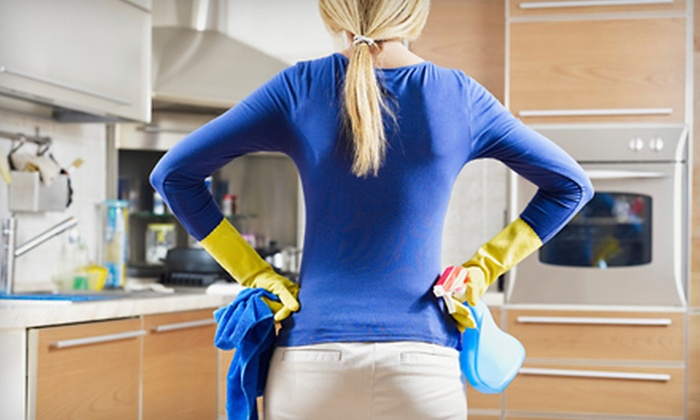 MaidPro - Sandy: Two, Three, or Four Man-Hours of Eco-Friendly Home Cleaning from MaidPro (Half Off)
